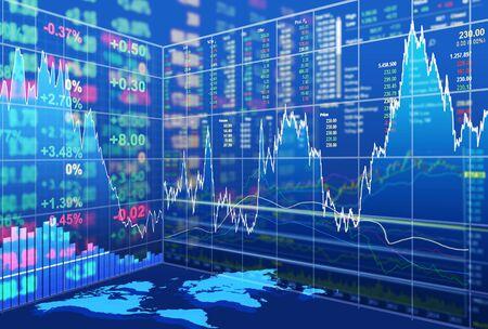 bolsa de valores: concepto de mercado de valores y el fondo