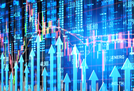 stock market concept and background Zdjęcie Seryjne - 46725408