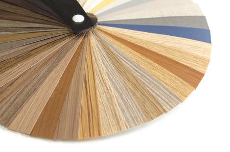 Decoratieve houten paletgids. Interieur ontwerp.