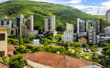 Brazil journey. The beauty of urban jungle. Belo Horizonte .Brazil . Imagens