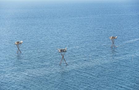 Fishing in the open sea. Crimea.