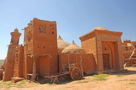 Golden Horde. Film. Saray Batu, Russia, Astrakhan Region. Фото со стока