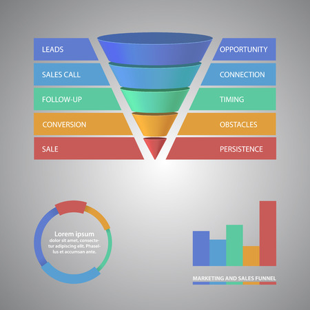 Vector infographic or web design template. EPS10 vector illustration