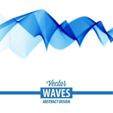 smooth: Abstract smooth color wave vector Illustration