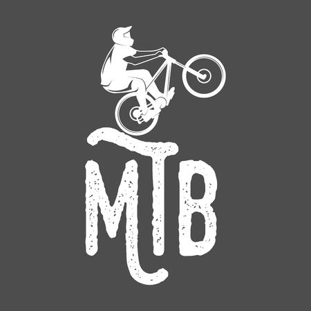 マウンテン バイクのバッジ