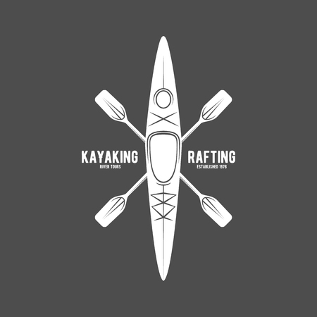 vintage rafting labels
