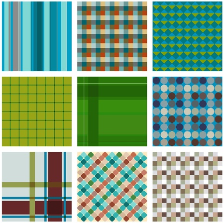 hosiery: abstract check pattern