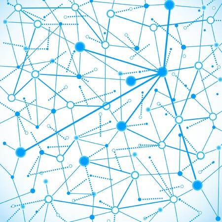 nervenzelle: Konzept der Betrieb von Computer-Netzwerk-Arbeit