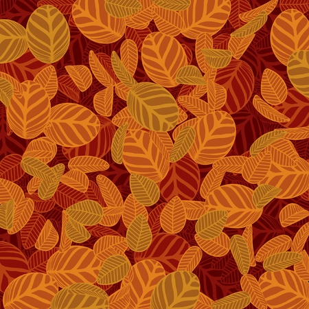 Autum Hedge Vector