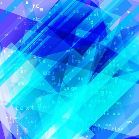 flujo de datos: equipo azul de flujo de datos concepto de fondo