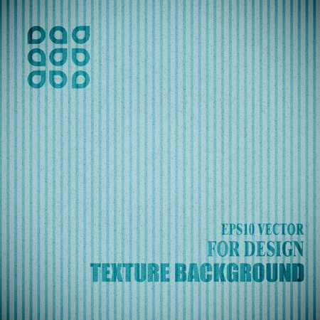 blue cardboard texture Stock Vector - 17083063