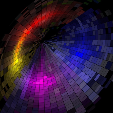 imprenta: Fondo colorido mosaico