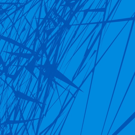 blue lines background Vector