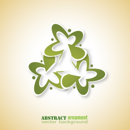 Abstract ornament element background for design Illustration