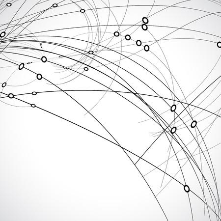 conexiones: Fondo de tecnolog?a abstracto