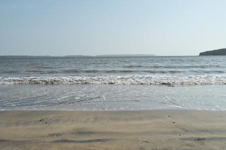 duskiness: sea side Stock Photo