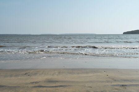 bureta: indio mar Foto de archivo