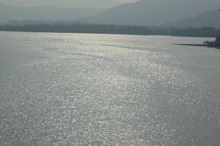 pani: goa river side Stock Photo