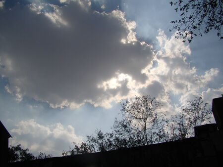 soltería: cielo nublado