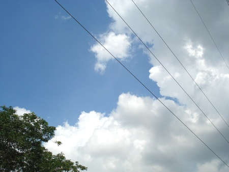 obscurity: perspective of sky