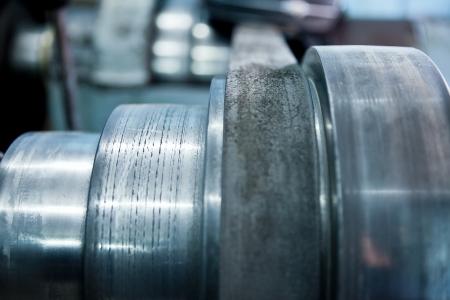 murk: steel wheels Stock Photo
