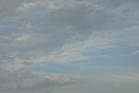 perplex: vast sky Stock Photo