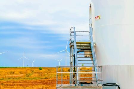 metallic: Electricity wind turbine tower generator