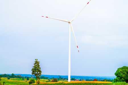 hardwearing: Electricity wind turbine tower generator