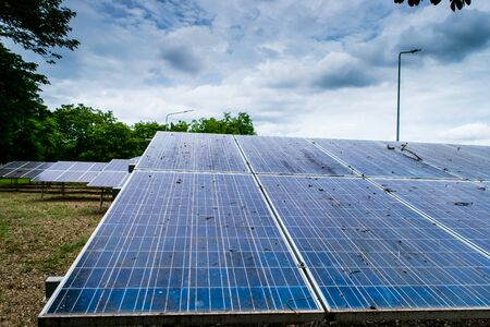 Pannelli a celle solari nuova energia elettrica alternativa