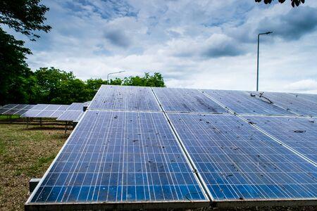 Solarzellenpaneele neue alternative elektrische Energie