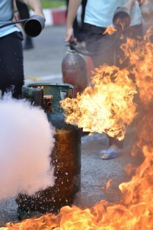 flammable: liquid propane gas leak