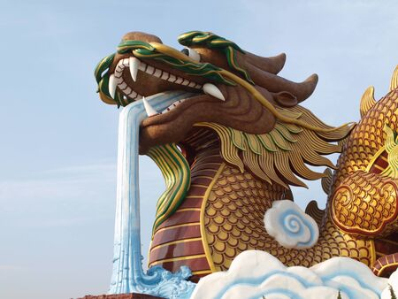 Big dragon at Suphanburi Thailand Stock Photo - 10393121