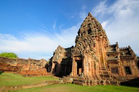 buriram: Phanomrung History Park at Buriram province in thailand