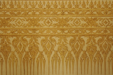 Wallpaper Thai motifs