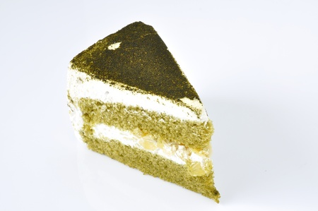 Green tea cheesecake homemade food