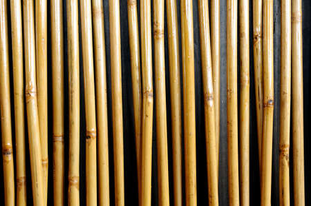 Bamboo wall as texture or background
