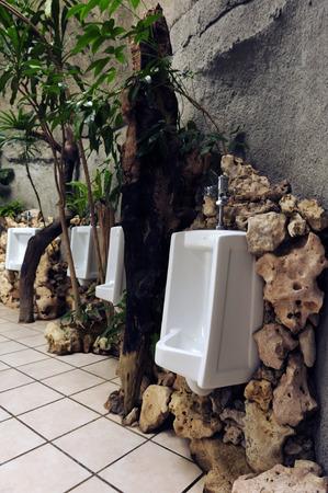 Mens bathroom decor the natural style  photo