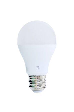Light bulb on a white background. Stock Photo