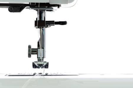 Close up sewing Machine Stock Photo