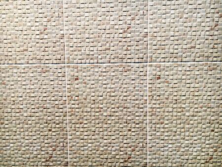 Tile wall texture for background Stock Photo