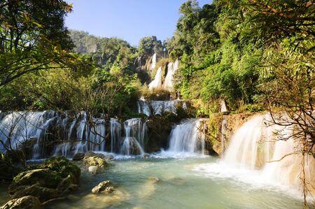 Thi Lo Su Waterfall in Wildlife sanctuary.