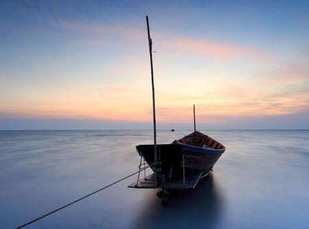 murk: The wrecked ship  , Thailand Stock Photo