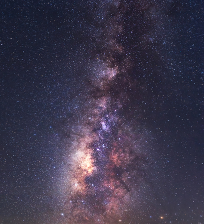 clearly: Clearly milky way over the mountain, Thailand