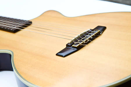 Classical acoustic guitar photo