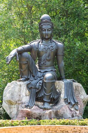 Avalokitesvara  is a bodhisattva who embodies the compassion of all Buddhas. photo