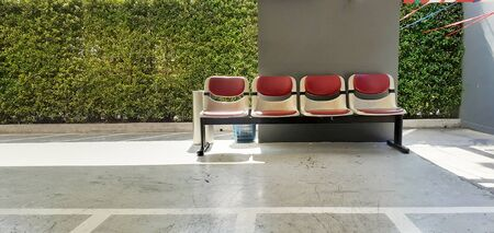The empty chair was quietly placed
