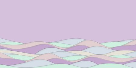 Pastel paper cut pattern background Art style. Abstract 3D paper. Design patterns for business presentations, flyers, posters, prints, cards, cover brochures
