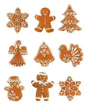 Gingerbread Christmas Set Stock Photo - 24236526