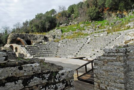 turistic: old ancient theater
