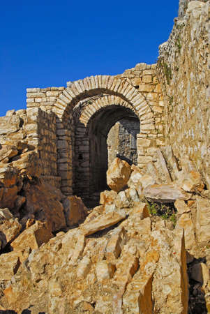 turistic: ruins of an old monastery